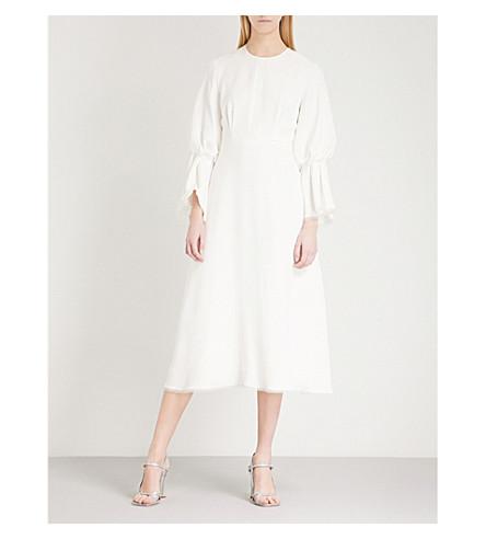 dress Ophelia ROKSANDA Ophelia silk ROKSANDA Ivory gqwIf18