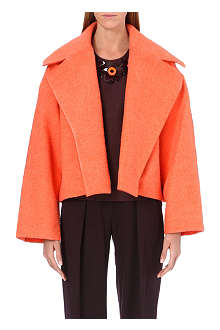 ROKSANDA ILINCIC Bleeker oversized wool-blend jacket
