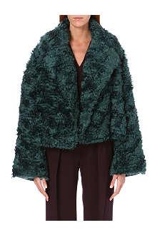 ROKSANDA ILINCIC Bleeker faux-fur jacket