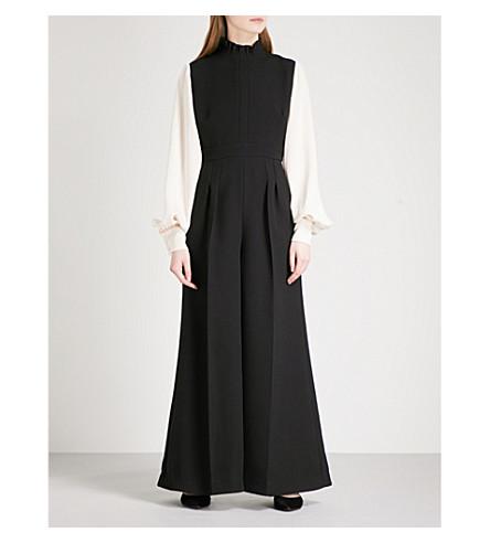 ROKSANDA Torno crepe jumpsuit (Black