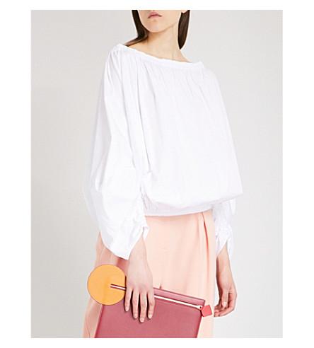 ROKSANDA Niya cotton-poplin top (White