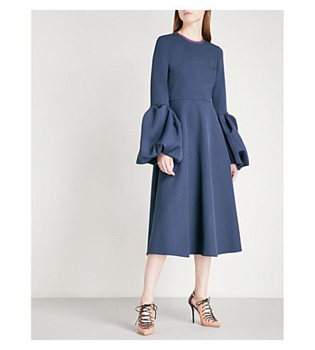 ROKSANDA Aylin strech-crepe midi dress (Squid+ink