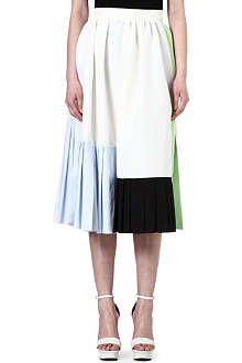 ROKSANDA ILINCIC Silk-blend pleated skirt