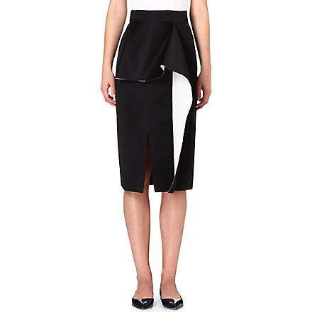 ROKSANDA ILINCIC Balmont pencil skirt (Black/ivory