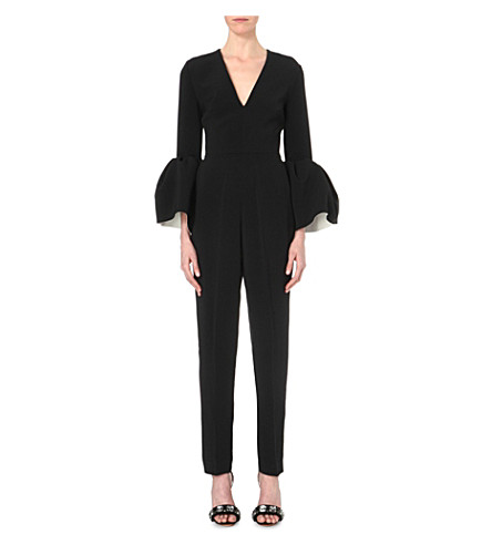 ROKSANDA Margot crepe jumpsuit (Black