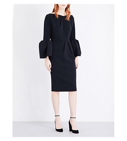 ROKSANDA Margot stretch-crepe dress (Black