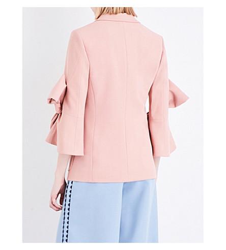 ROKSANDA 'Camogie' Bow Sleeve Tailored Blazer