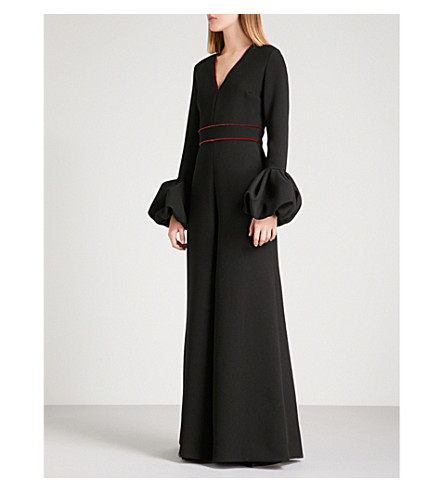 ROKSANDA Daia crepe jumpsuit (Black