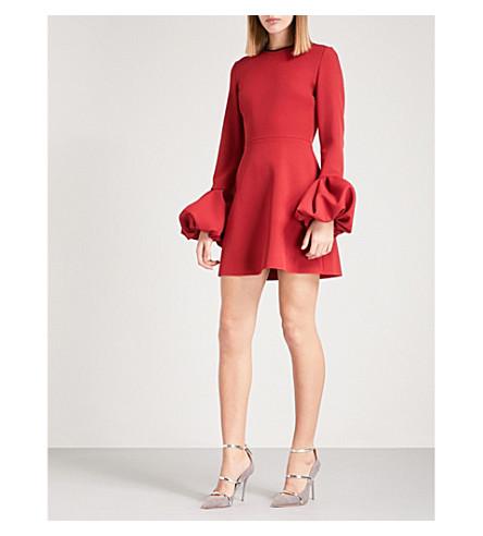 ROKSANDA Gaia crepe mini dress (Cherry