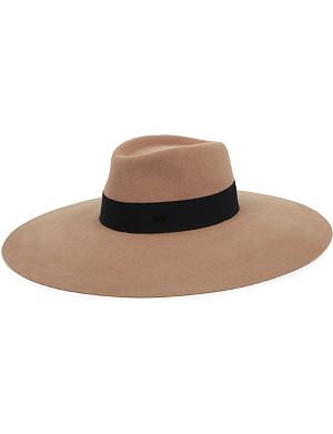 MAISON MICHEL Fara felt wide-brim hat