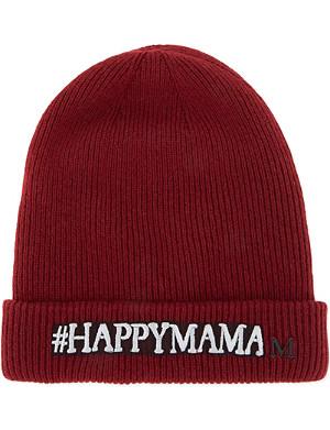 MAISON MICHEL Hashtag beanie hat