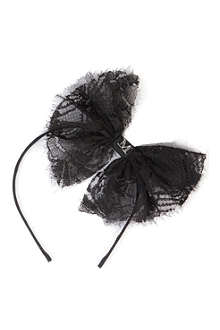 MAISON MICHEL Bow headband