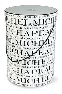 MAISON MICHEL Large Chapeau hat box