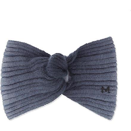 MAISON MICHEL Ombre turban (Grey