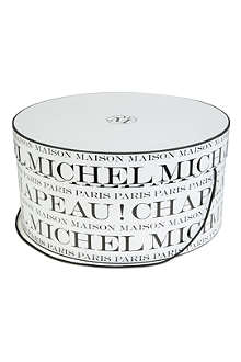 MAISON MICHEL Small Chapeau hat box