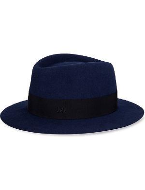 MAISON MICHEL Andre large fedora hat