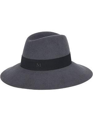 MAISON MICHEL Kate felt trilby hat