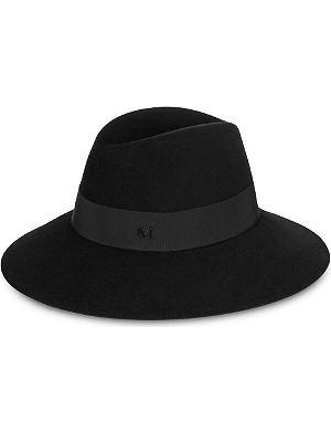 MAISON MICHEL Kate wide-brim trilby hat