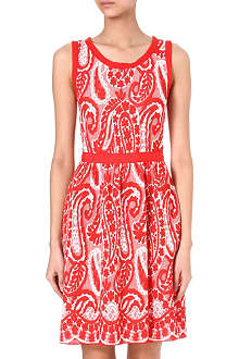 GIAMBATTISTA VALLI Paisley knitted dress