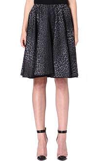 GIAMBATTISTA VALLI Leopard print skirt