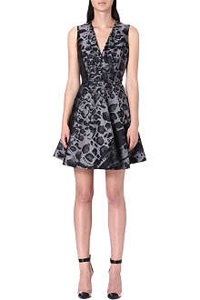 GIAMBATTISTA VALLI Leopard print dress