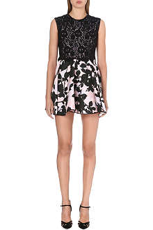 GIAMBATTISTA VALLI Embroidered lace dress