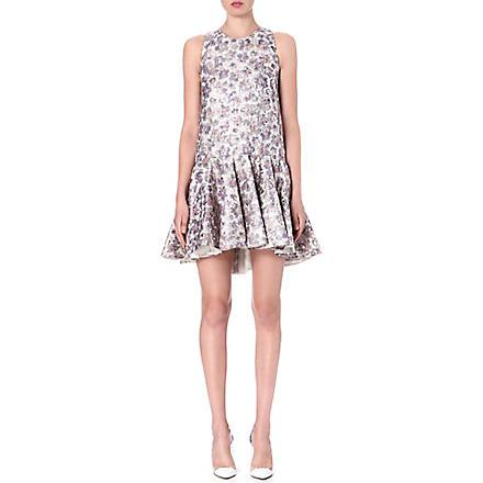 GIAMBATTISTA VALLI Sleeveless silk-blend dress (Pink