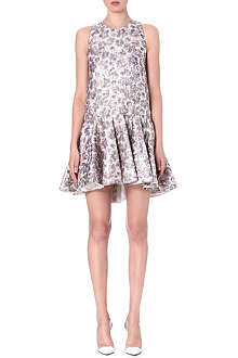 GIAMBATTISTA VALLI Sleeveless silk-blend dress