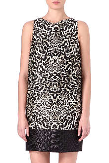GIAMBATTISTA VALLI Leopard-print dress