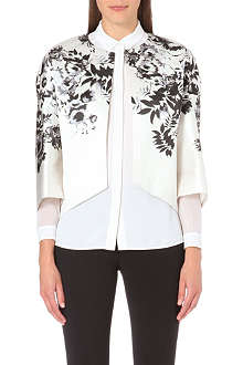 GIAMBATTISTA VALLI Floral satin jacket