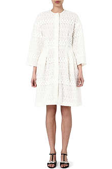 GIAMBATTISTA VALLI Embroidered lace coat