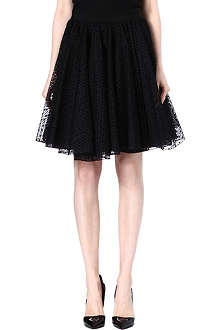 GIAMBATTISTA VALLI Lace skater skirt