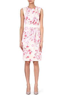 GIAMBATTISTA VALLI Floral-print satin dress