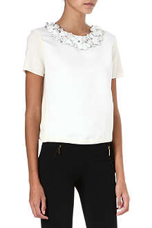 GIAMBATTISTA VALLI Embellished wool top