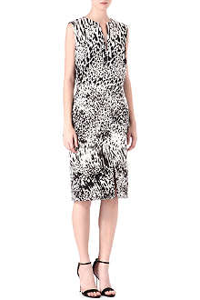 GIAMBATTISTA VALLI Duchess-print sleeveless dress