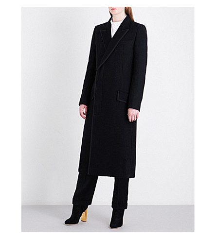 HAIDER ACKERMANN Franklin wool coat (Black