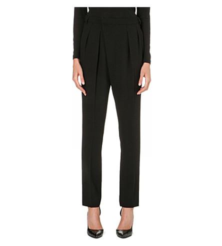 UNGARO Pleated-front wool trousers (Bero