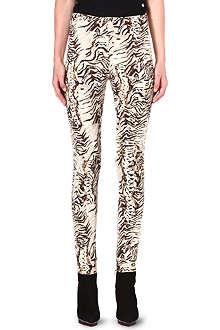 UNGARO Skinny-fit crepe trousers