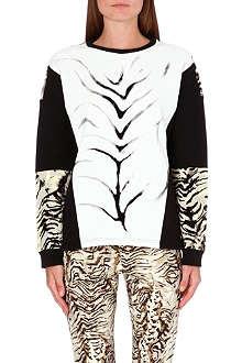 UNGARO Tiger-print sweatshirt