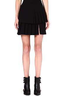 UNGARO Layered pleat skirt
