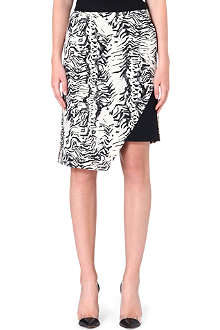 UNGARO Asymmetric pencil skirt
