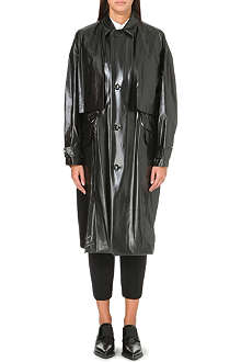 TOGA High-shine raincoat