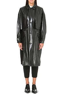 TOGA High-shine raincoat