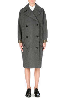 TOGA Oversized wool-blend coat
