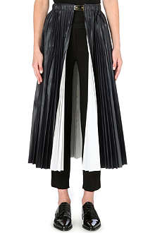 TOGA Open-front pleated skirt