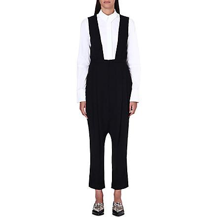 TOGA Sleeveless crepe jumpsuit (Black