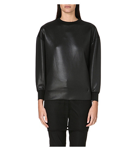 TOGA Mesh jumper dress (Black