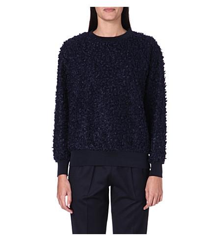 TOGA Bobble knit jumper (Navy