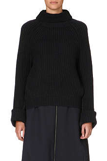 TOGA Roll-neck knitted jumper