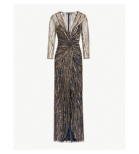 JENNY PACKHAM Phoenix sequin-embellished mesh gown (Night